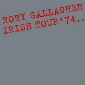 RORY IRISH TOUR COVER