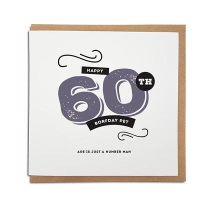 a 60th-geordie-birthday-card-funny-brown-envelope